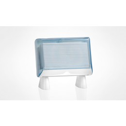 841 DISPENSER TRASPARENTE  MINI Z-FOLD FREE STAND T